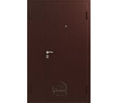 Дверь металлическая двухстворчатая СИБИРЬ S-3