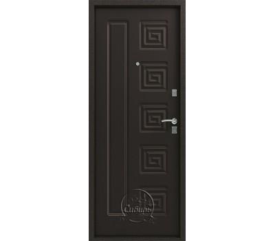 Дверь металлическая СИБИРЬ S-2 СЕРЕБРО