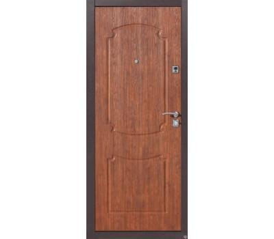 Дверь металлическая СТРОЙ ГОСТ №7 ЗОЛОТИСТЫЙ ДУБ
