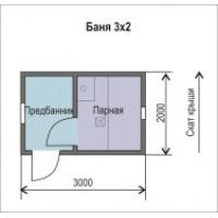 Баня 2*3м