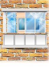 Остекление балконов/лоджий
