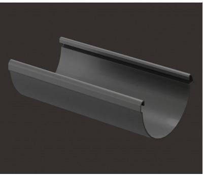 Желоб водосточный 3м ПВХ ГРАФИТ / Docke LUX