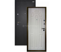 """Входная дверь """"ДОН"""" чёрный 3-D шёлк"""