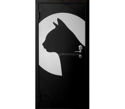 """Дверь металлическая """"Кошка"""""""