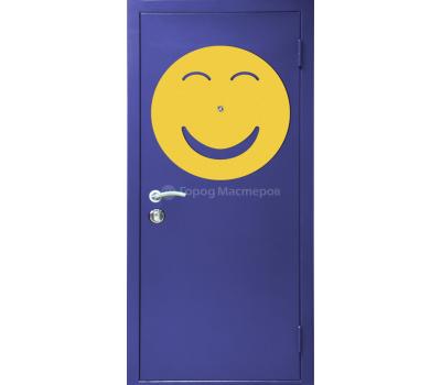 """Дверь металлическая """"Улыбка"""""""
