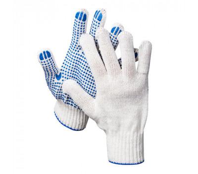 Перчатки х/б DEXX 7 класс 11400-z01 с защитой от скольжения