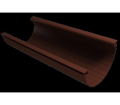 Желоб водосточный 3м ПВХ КОФЕ/Vinylon