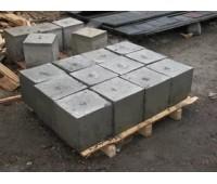 Бетонный фундаментный блок 30*30*30см