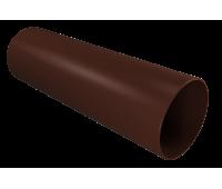 Труба 90мм водосточная 3м ПВХ КОФЕ/Vinylon