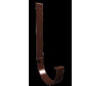 Кронштейн желоба металлический 30см КОФЕ/Vinylon