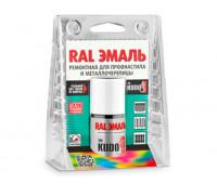 Эмаль RAL ремонтная для профнастила и металлочерепицы с кисточкой