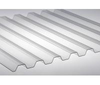 Профилированный монолитный поликарбонатный лист 0,8мм