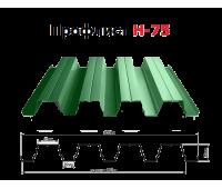 Профлист Н-75 окрашенный
