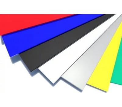 Плоский лист полиэстер  (в плёнке)