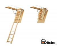 Чердачная лестница DSS STANDARD 60х120х280 см