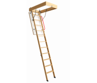 Чердачная лестница PREMIUM 70х120х300 см