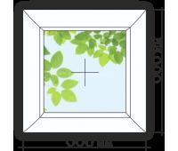 Дачное окно 600*600глухое