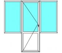 """Балконный блок """"под ключ"""""""
