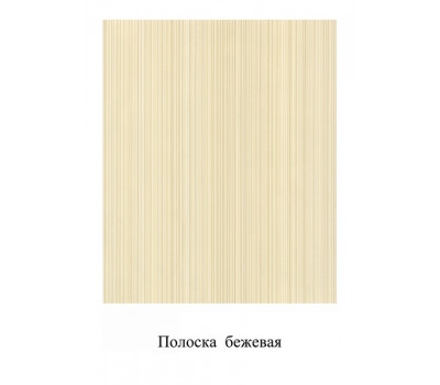 """Панель ламинированная ПВХ """"Рипс белый (полоска бежевая)"""" 250*2700"""