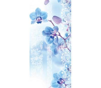 """Панель ПВХ """"Орхидея голубая"""" 250*2700"""