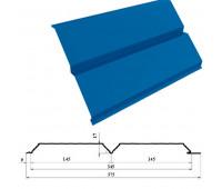 Сайдинг L-брус (ЕВРОБРУС) цвета RAL