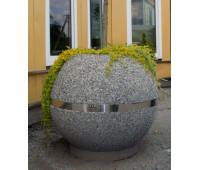 Вазон из бетона №10