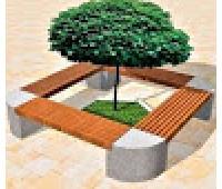 Скамейка №1 квадрат