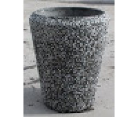 Вазон из бетона №23