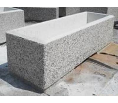 Вазон из бетона №4