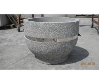 Вазон из бетона №11