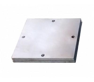 Квадратная пластина для винтовых свай