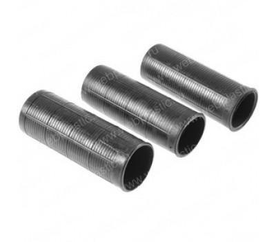 Ручка пластиковая на трубу D28мм/плоская /ребристая/Модель МАС