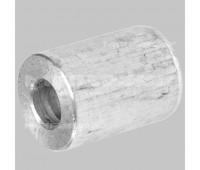 Стальная обжимная гильза для каната D16 мм под болт или Т-образное соединение.