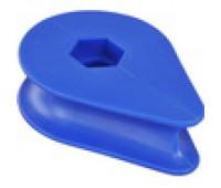 Пластиковый Коуш для каната диаметром 16 мм.