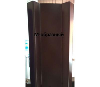 Металлический М-образный евроштакетник /ширина 100мм