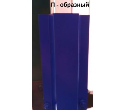 Металлоштакетник П-образный /100мм