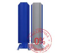 Металлоштакетник П-образный узкий 85мм /нестандартные цвета RAL