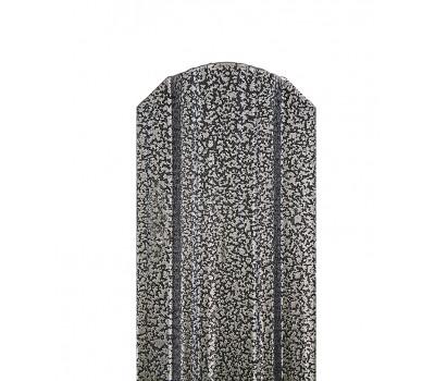 Металлоштакетник П-образный узкий 85мм /двусторонний Antique Chameleon