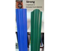 Металлический евроштакетник Strong /ширина 118мм