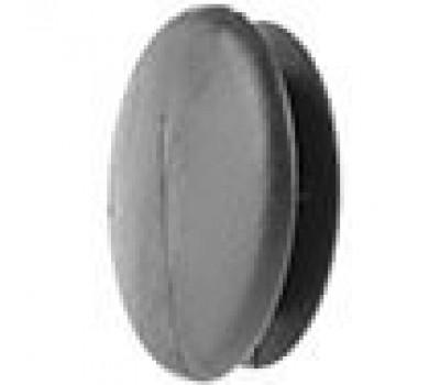 Заглушка круглая D-25 /стенка 1-3мм