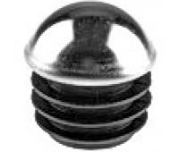 Заглушка круглая сферическая D-25 хромированная / стенка 1-2,5мм