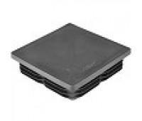 Заглушка квадратная 100*100 /первичный материал/ стенка 1,2-5мм