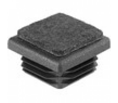 Заглушка квадратная 30*30 с фетровой накладкой /стенка 1-3мм