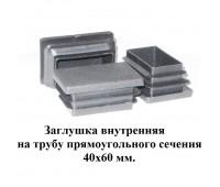 Заглушка 60*40 /стенка 0,8-3мм